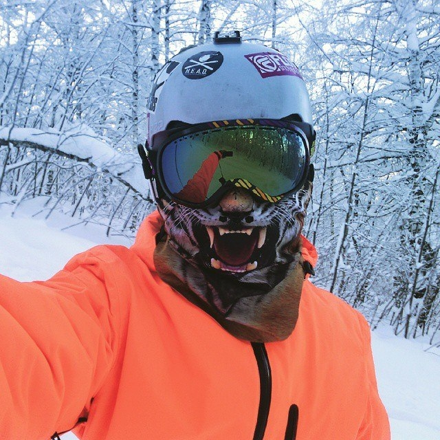 Маска сноуборд своими руками